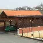Referenz Salamon & Scherr - Carport Blechdach Bramac