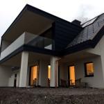 Referenz Salamon & Scherr - EFH Gnas Flach- zu Steildach samt Stehfalz-Metallfassade
