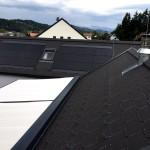 Referenz Salamon & Scherr - EFH Hitzendorf Steildach mit Eternit Faserzement-Eindeckung